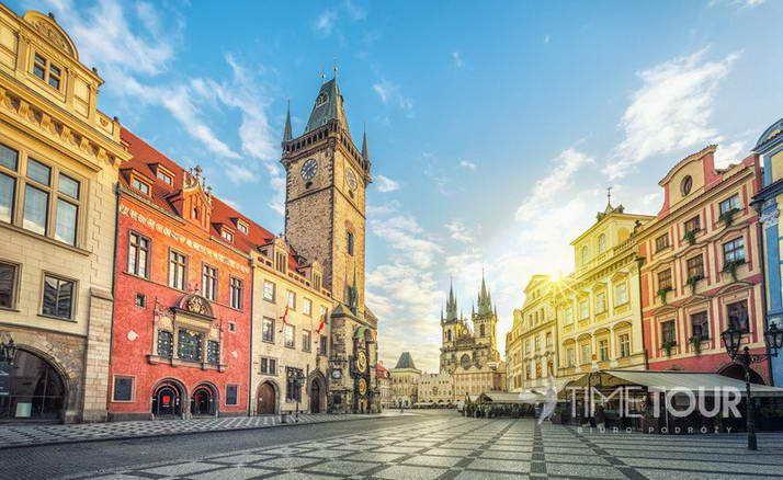 wycieczka szkolna do Pragi, Skalnego Miasta i Morawskiego Krasu
