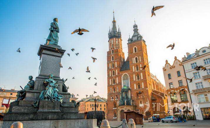 wycieczka szkolna do Krakowa Ojcowa i Energylandii