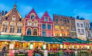 Wycieczka firmowa do Antwerpii - rynek
