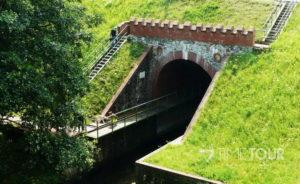 Wycieczka firmowa w Bory Tucholskie - akwedukt w Fojutowie