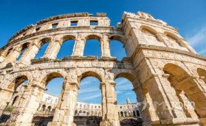 Wycieczka firmowa do Chorwacji - amfiteatr w Puli