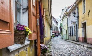 Wycieczka firmowa do Tallina - wąskie uliczki
