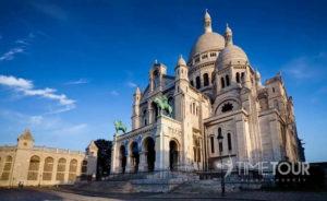 Wycieczka firmowa do Paryża - bazylika Sacre Coeur