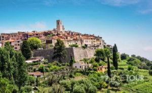 Wycieczka firmowa do Francji - panorama Saint Paul de Vence