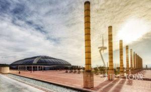 Wycieczka firmowa do Hiszpanii - kompleks olimpijski w Barcelonie