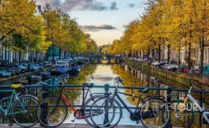 Wycieczka firmowa do Amsterdamu - rowery