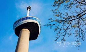 Wycieczka firmowa do Rotterdamu - wieża widokowa Euromast