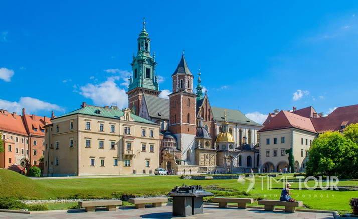 Wycieczka firmowa do Krakowa - katedra na Wawelu