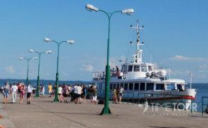 Wycieczka firmowa do Krynicy Morskiej - port nad Zalewem Wiślanym
