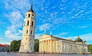 Wycieczka firmowa do Wilna - katedra