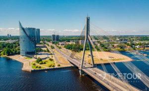 Wycieczka firmowa do Rygi - most wantowy
