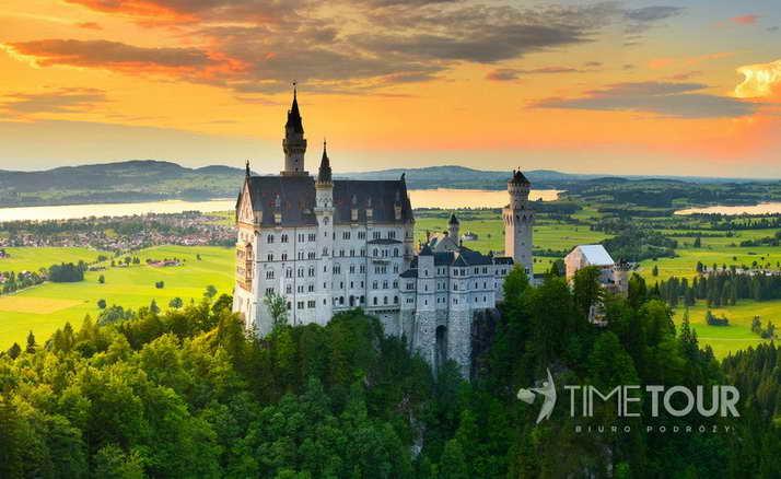 wycieczka firmowa do Bawarii - Monachium, Ga-Pa, Zugspitze i słynne zamki