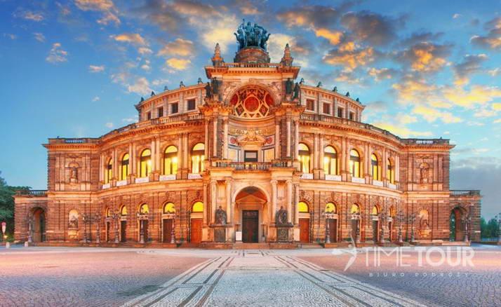 Wycieczka firmowa do Drezna - Opera Sempera