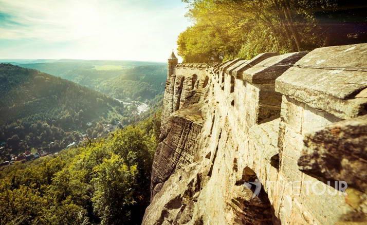 Wycieczka firmowa do Saksonii - Twierdza Königstein i Dolina Łaby