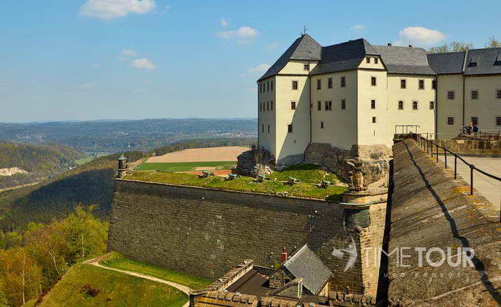Wycieczka firmowa do Saksonii - Twierdza Königstein