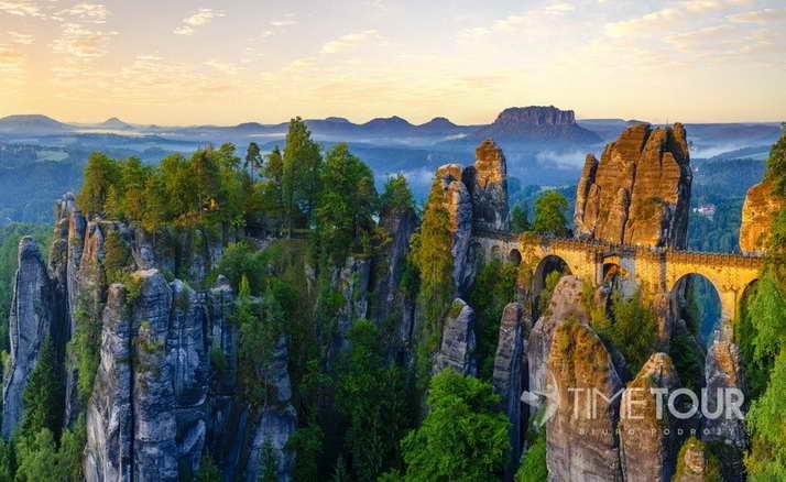 Wycieczka firmowa do Parku Narodowego Saksonii Szwajcarskiej - rezerwat Bastei