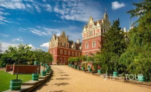 Wycieczka firmowa do Parku Mużakowskiego - Nowy Pałac w Mużakowie