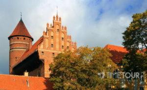 Wycieczka firmowa na Warmię do Olsztyna - zamek kapituły warmińskiej