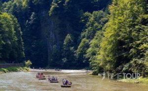 Wycieczka firmowa w Pieniny - spływ Dunajcem