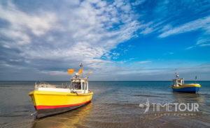 Wycieczka firmowa do Sopotu - plaża w Sopocie