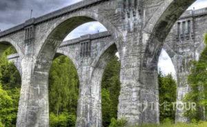 Wycieczka firmowa na Mazury i na Suwalszczyznę - mosty w Stańczykach