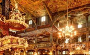 Wycieczka firmowa do Świdnicy - wnętrze Kościoła Pokoju