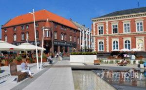 Wycieczka firmowa do Świnoujścia - nowe centrum miasta