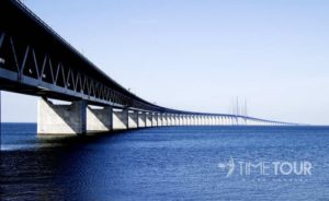 Wycieczka firmowa do Szwecji i Danii - Most Oresund nad Cieśniną Sund