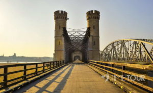 Wycieczka firmowa do Tczewa - mosty tczewskie