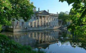 Wycieczka firmowa do Warszawy - Pałac na Wodzie