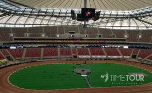 Wycieczka firmowa do Warszawy - Stadion Narodowy