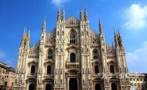 Wycieczka firmowa do Włoch - katedra w Mediolanie