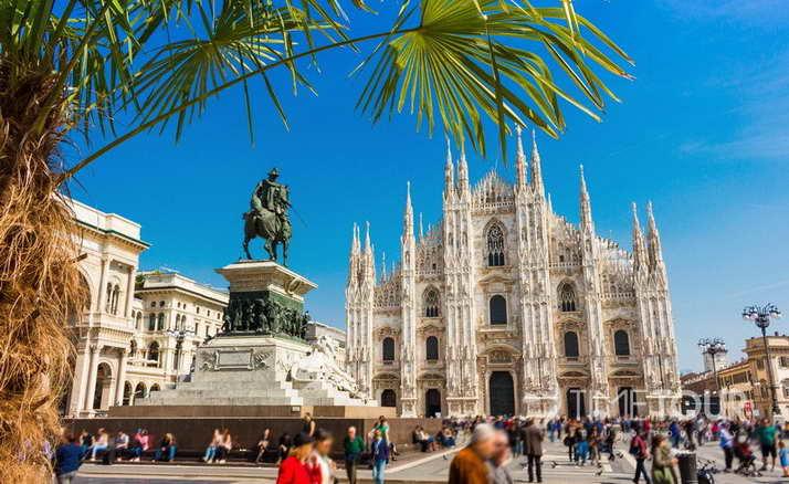 Wycieczka firmowa do Włoch - Mediolan katedra