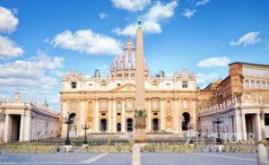 Wycieczka firmowa do Rzymu - bazylika św. Piotra w Watykanie