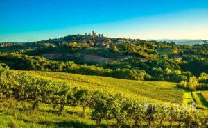 Wycieczka firmowa do Włoch - Toskania krajobraz