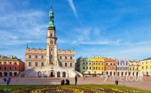 wycieczka firmowa do Sandomierza, Zamościa i Łańcuta