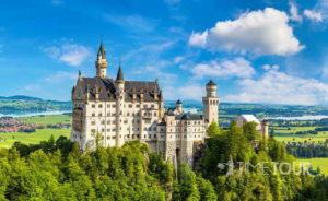 wycieczka szkolna do Bawarii z Monachium, Ga-Pa, Zugspitze i słynnymi zamkami