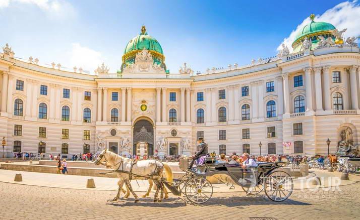 Wycieczka szkolna do Wiednia - Hofburg
