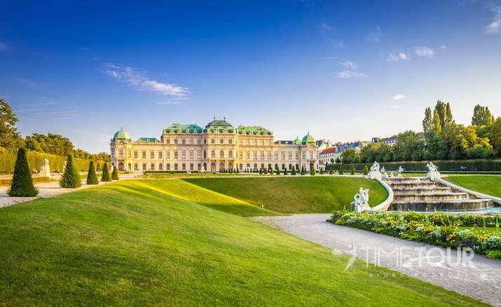 Wycieczka szkolna do Wiednia - Belweder i ogrody pałacowe