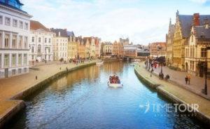 Wycieczka szkolna do Brugii - flamandzka Wenecja
