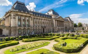 Wycieczka szkolna do Brukseli - Pałac Królewski
