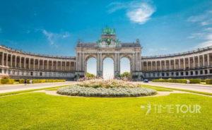 Wycieczka szkolna do Brukseli - łuk triumfalny