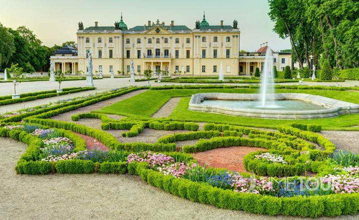 Wycieczka szkolna do Białegostoku - Pałac Branickich i ogrody