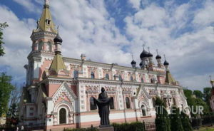Wycieczka szkolna do Grodna - cerkiew katedralna