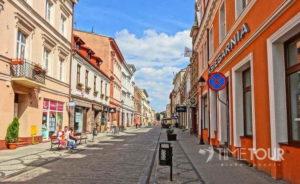 Wycieczka szkolna do Bydgoszczy - ulica Długa