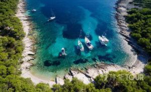 Wycieczka szkolna do Chorwacji - malownicza zatoka