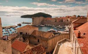 Wycieczka szkolna do Chorwacji - Dubrownik czerwone dachy