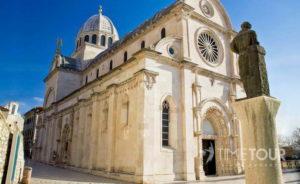 Wycieczka szkolna do Chorwacji - Szybenik katedra św. Jakuba