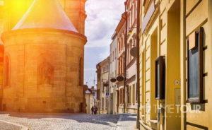 Wycieczka szkolna do Czech - Ołomuniec dawna stolica Moraw
