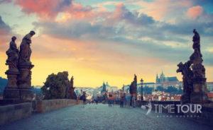 Wycieczka szkolna do Pragi - Most Karola i Hradczany
